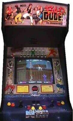Bad Dudes Vs Dragon Ninja Arcade Machine Par Data East (excellent État)