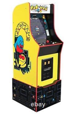 Bandai Namco Pac-man + 11 Jeux Large Arcade Machine Cabinet Avec Riser Nouveau