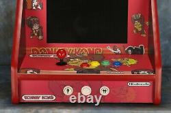 Bar / Table Top Classic Arcade Machine Avec 412 Jeux Classiques Donkey Kong Them