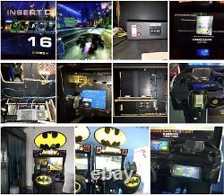Batman Coin Operated Simulator Arcade Racing Car Game Machine Flambant Nouveau 2019