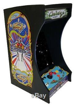 Brand New Galaga Vertical Bartop / Arcade Machine Avec Tabletop 60 Classic Games