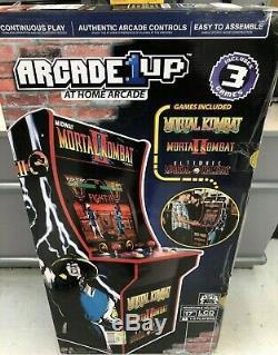 Brand New In Box Machine D'arcade Mortal Kombat 2, Arcade1up, 4 Pieds