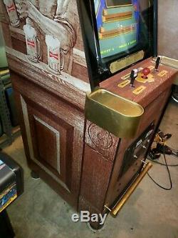 Budweiser Tapper Original Arcade Machine (restaurée, Agréable Et Fonctionnelle) Avec Une Véritable Carte De Circuit Imprimé