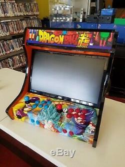 + Cabinet D'arcade Bartop Personnalisé Ultimate + Plus De 10 000 Jeux! Machine À Framboise