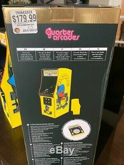 Cabinet D'arcade Officiel Échelle Pac-man Au 1/4 Machine Machine 16.9 Rétro-éclairé