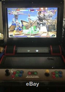 Capcom 2 Vs Marvel Arcade Jeu Machine Jap / 32 Noir LCD Storm Uni Cabinet