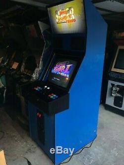 Capcom Big Blue Armade Cabinet Machine Super Street Fighter 2 Turbo Cps2