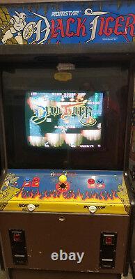 Capcom Black Tiger Arcade Machine (excellent État) Rare