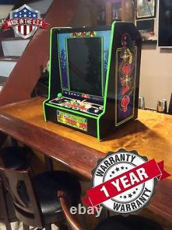 Centipede Bar Top Arcade Machine 60 En 1 Jeux Classiques Boutons Led Avec Trackball