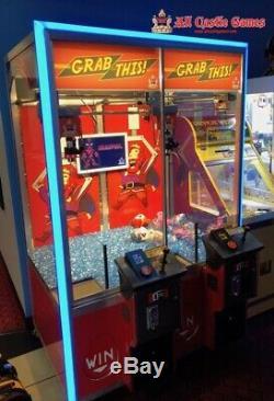Cette Grab! 2 Joueurs Led Machine À Griffes D'arcade