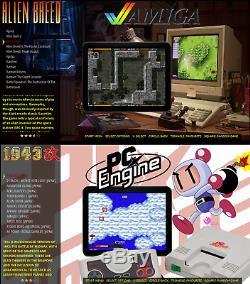 Classique Superfast Retro Games Console 292gb Arcade Machine Hdmi