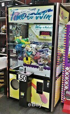 Clean Sweep Griffe De Grue Prix Machine Cs42 Fabriqué Aux Etats-unis Par Smart Ind. Fonctionne Très Bien