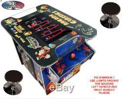 Cocktail Arcade Machine Incroyable Avec 412 Jeux Classiques! 22 Pouces Grand Écran