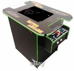 Cocktail Arcade Machine Personnaliser Avec 15 Graphiques Options / 8 Couleurs T-moulage