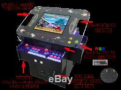Cocktail Premium Arcade Machine 22 Écran Lcd, Basculement Haut, Plus De 1000 Jeux