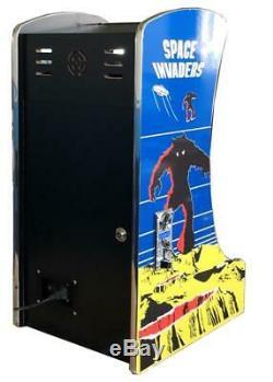 Cocktail Vertical Bartop Tabletop Arcade Machine 412 Jeux Classique Option Coin