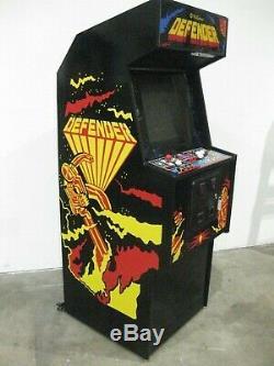 Console De Jeux D'arcade Verticale D'origine Williams Defender Real Deal