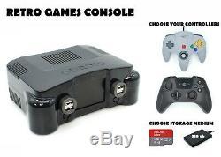 Console De Jeux Odroid Xu4 Retro - Machine D'arcade De 128 Ou 320 Go - Coque N64 Ogst