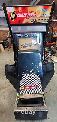Crazy Taxi Arcade Driving Racing Machine De Jeu Vidéo! Impressionnant Pilote Classique