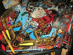 Crochet Arcade Pinball Machine Dataeast 1992 (led Sur Mesure)