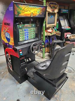 Cruisn' World Arcade Driving Racing Vidéo Jeu Machine Travaux Grand! Jeu Cruisin