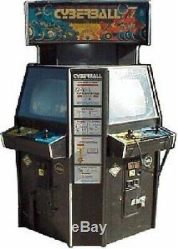 Cyberball 2072 Tournoi De Machine Arcade Par Atari (excellent État) Rare