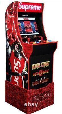 Dans Les Navires À Main Aujourd'hui Supreme X Mortal Kombat Arcade Machine Par Arcade1up