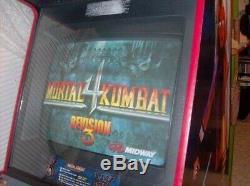 Dédié Ultimate Mortal Kombat 3 Arcade Machine Avec Mk1, Mkii Et Conseils Mk4
