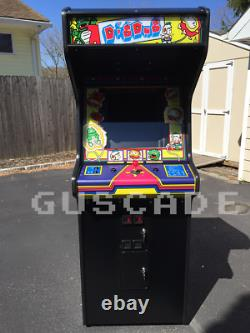 Dig Dug Arcade Machine New Full Size Joue Plusieurs Autres Jeux Classiques Guscade