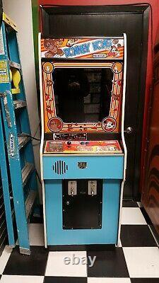 Donkey Kong Arcade Game (1981) Machine Originale, Testé Working Classic