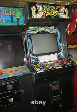 Double Dragon Arcade Machine Par Taito 1987 (excellent État) Rare