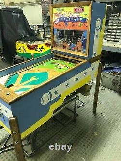 Entièrement Restauré Vintage Williams Super World Series Baseball Arcade Game