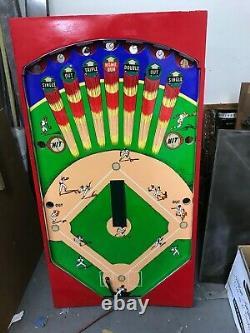 Entièrement Restauré Vintage Williams Super World Series Baseball Arcade Jeu