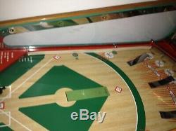 Entièrement Restaurée Sur Mesure Vintage Williams 57 Deluxe Baseball Jeu D'arcade