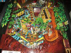 Évasion Du Monde Perdu Arcade Pinball Machine Bally 1987 (led Sur Mesure)
