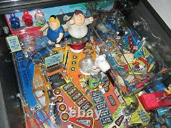 Famille Guy Arcade Pinball Machine Stern 2007 (led Personnalisée & Excellent État)