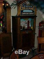 Fortune Teller, Antique Coin Op Old Restauré Jukebox