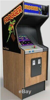 Frogger Machine Arcade Par Sega (excellente Condition) Rare