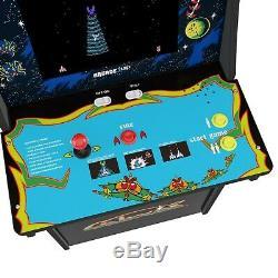 Galaga / Galaxian Arcade 1up Machine 4ft Gameroom Marque Nouveau Prêt À L'expédition