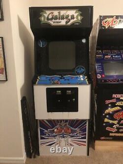 Galaga Par Midway 60 En 1 Machine D'arcade Pleine Grandeur, Écran Moniteur A Besoin De Réparation