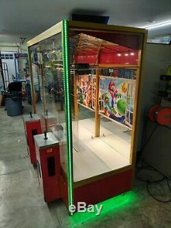 Grand Choix Par Smart 2 Joueurs En Peluche Grue Machine Redemption Arcade Game