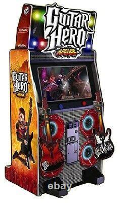 Guitar Hero Arcade Machine Par Raw Trills 2010 (excellent État)