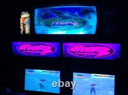 Hydro Thunder Arcade Machine 2x Withrare Topper