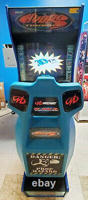 Hydro Thunder Boat Racing Arcade Driving Machine De Jeux Vidéo Fonctionne Très Bien
