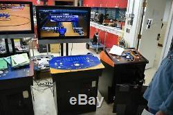 Incroyable Technologies Argent Strike Bowling 2009 Jeu D'arcade Avec Tv Et Stand