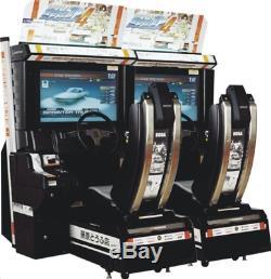 Initial D Etape 4 Arcade Jeu Street Racing Retail Coin Operated Video Machine