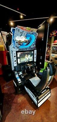 Initiale D8 Arcade Stage Infinity 2 Player Dual Driving Racing Machine With Server