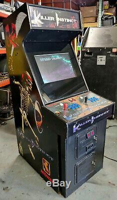Instinct De Tueur Full Size Fighting Arcade Jeu Vidéo Machine - 22 Moniteur LCD