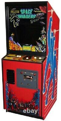 Invaders Spatiaux Deluxe Arcade Machine By Midway (excellent Condition) Rare