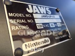 Jaws Le Arcade Machine New Full Size 1 Of 75 Limited Edition Jeu Vidéo Guscade